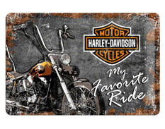Plåtskylt Harley Davidson Favourite