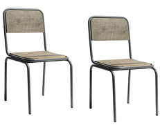 2 st SOHO chair, Dusty Black